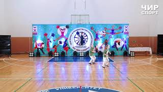 Чир Спорт 2021  - 020 - Журавлёва Оксана, Логинова Мария, New Style, Ухта