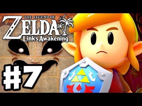 The Legend of Zelda: Linku0027s Awakening - Gameplay Part 7 - Face Shrine! (Nintendo Switch)
