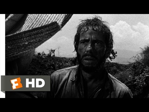 The Treasure of the Sierra Madre (9/10) Movie CLIP - You Can Only Shoot One of Us (1948) HD