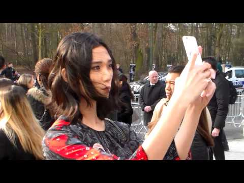 Tao OKAMOTO @ Paris 11 march 2015 Fashion Week show Vuitton