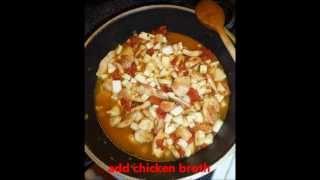 Saute Chicken Kohlrabi