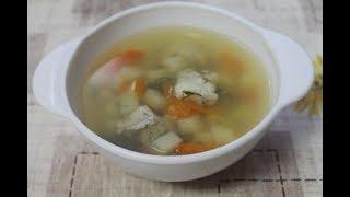 Детский рыбный суп из хека