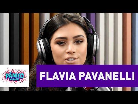 "Flavia Pavanelli: ""na minha cabeça nunca houve namoro"" sobre Biel | Pânico"