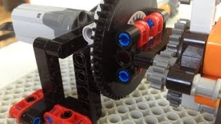 lego technic two input four output motor multiplexers
