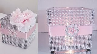 BLING CANDLE HOLDERS & NAPKIN RING DECOR | A GLAMOROUS DIY 2018
