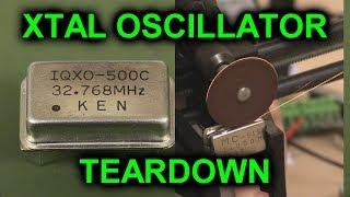 EEVblog #1089 - XTAL Oscillator Teardown
