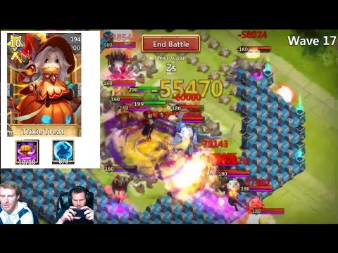 Castle Crisis Ember Army With Trixie Treat SHES NUTS!! Castle Clash