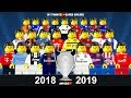 Preview Champions League 2018/19 • Group Stage Draw • Lego Football Film