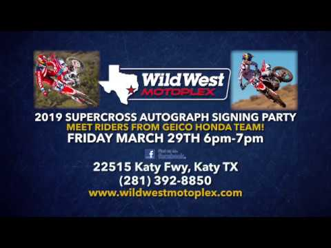 Wild West Honda >> Wild West Moto Mania Supercross Party 2019 Honda