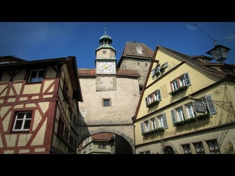 Travel Germany - Rothenburg ob der Tauber