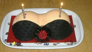 😂Funny Happy Birthday Cake Idea's😂/ WhatsApp status video