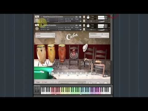 Native Instruments Cuba for Kontakt - Percussion Ensembles walkthrough