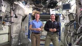 Astronauts share thoughts on living and working in space
