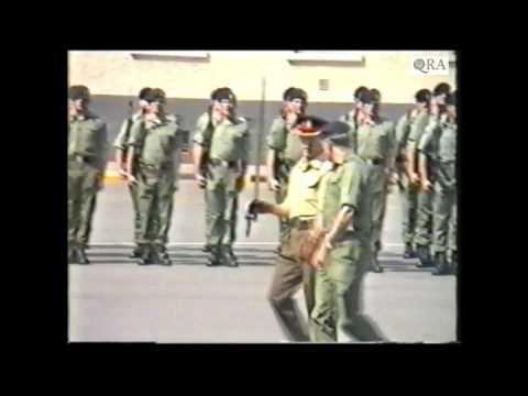 1st Battalion The Queen's Regiment Disbandment Part 1