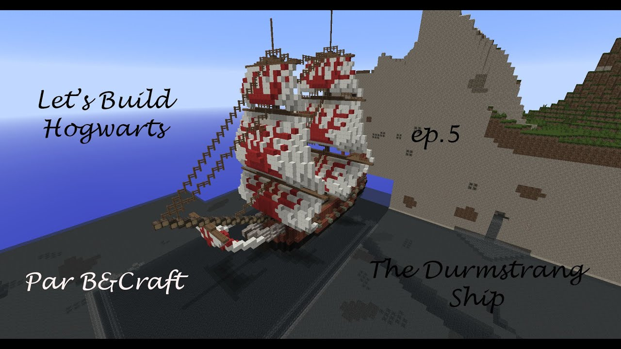 Let S Build Hogwarts Ep 5 The Durmstrang Ship Youtube Harry potter and the goblet of fire (2005). the durmstrang ship
