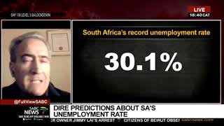 DISCUSSION | Dire predictions about SA's unemployment rate