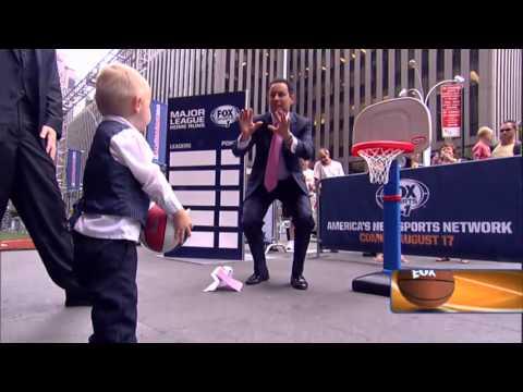 Fox & Friend's Brian Kilmeade hits trick shooting toddler pt2