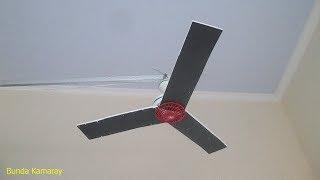 Ceiling Fan Black propeller