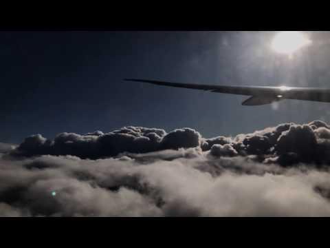 Beautiful landing at Heathrow airport Kuwait Airlines 4K