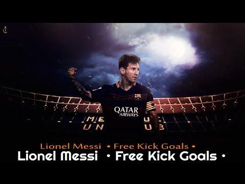 Lionel messi  • Free Kick Goals •