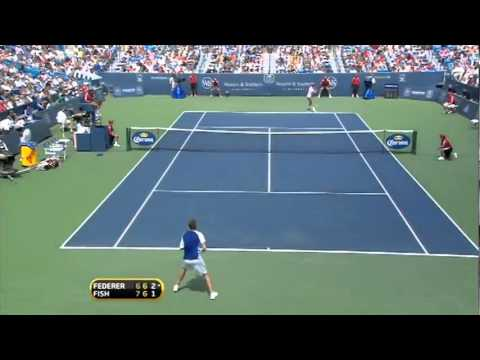 Federer vs Fish Final 2010 Cincinnati Masters Highlights HQ + Trophy Presentation + Interviews