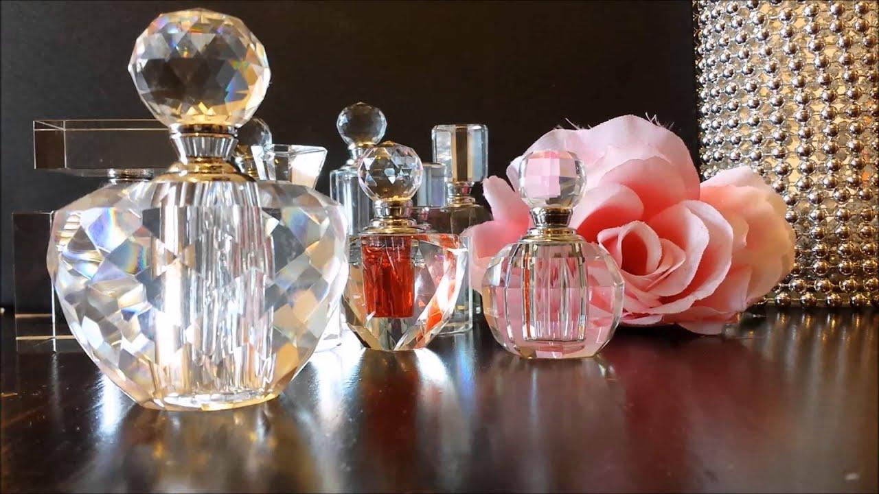 v pages vanity mirror crystal tray vintage