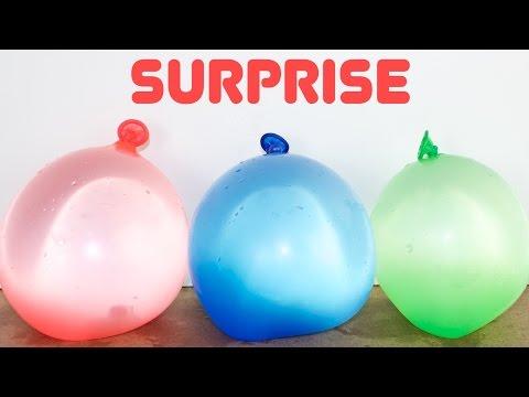 Water Balloon Surprises - Cool!