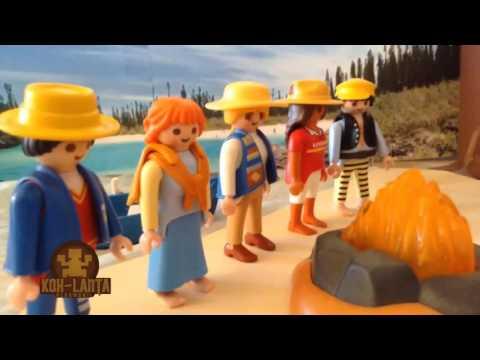 koh lanta playmobil - épisode 1