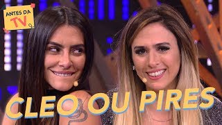 cleo ou pires tat werneck cleo pires lady night humor multishow