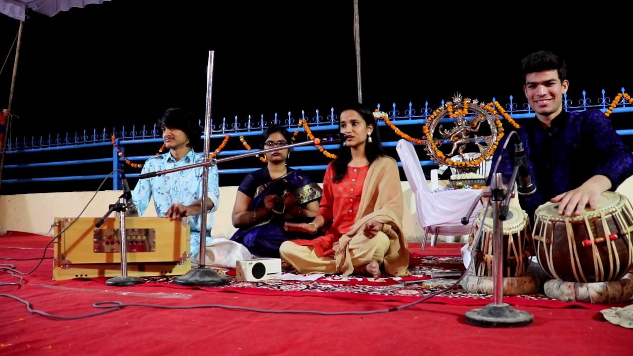 Param Dhan Raadhe Naam Adhar By Harija Pandey Live