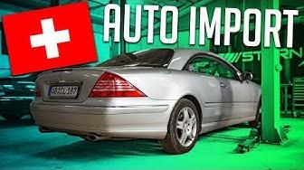 So importiert man ein Auto aus der Schweiz | RB Engineering | Mercedes Benz C215 CL 500