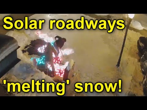 Solar Roadways caught CHEATING, AND Chinas Solar Road STOLEN!