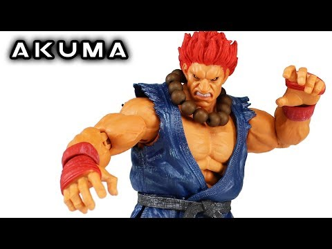 Storm Collectibles AKUMA Street Fighter V Arcade Edition Action Figure Review
