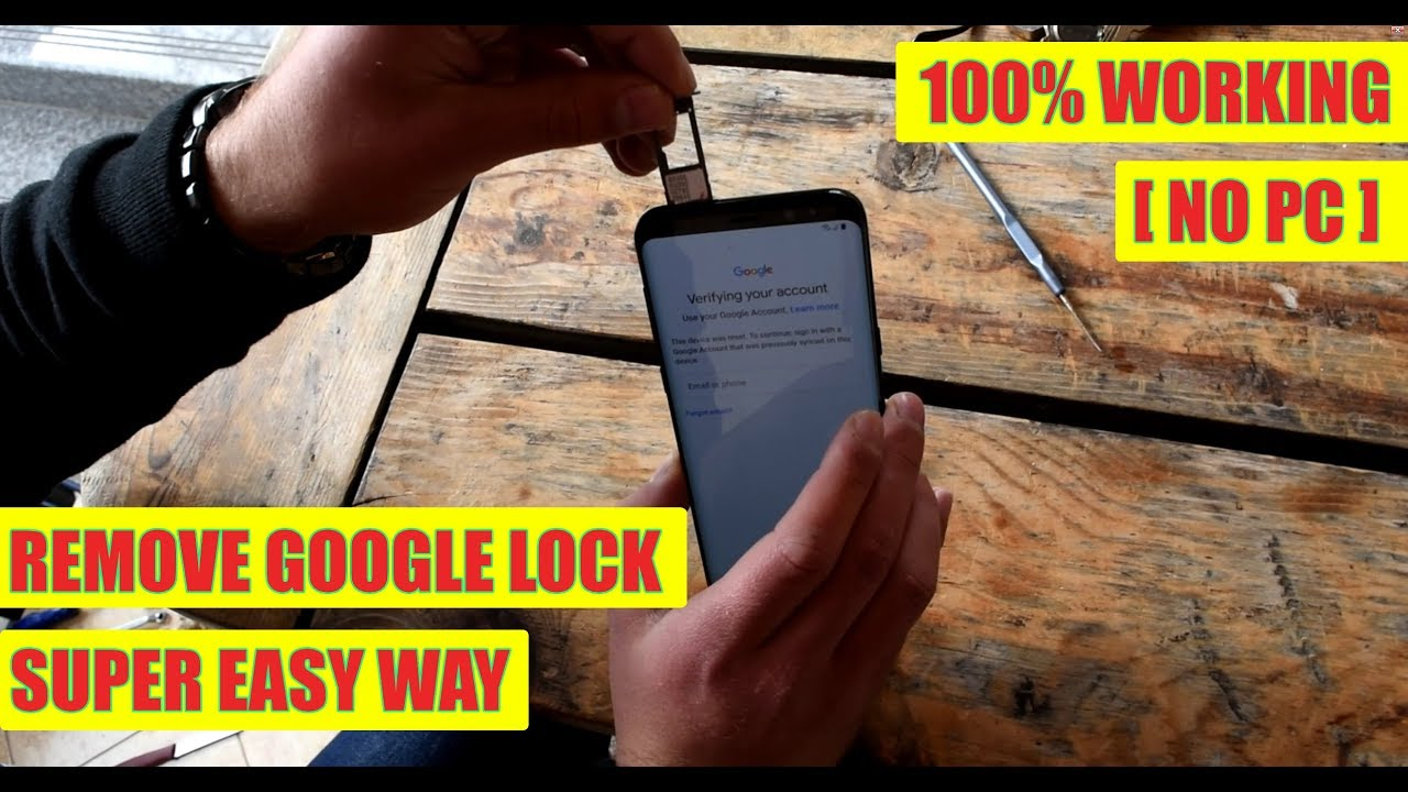 Bypass/Remove Google Lock FRP on Samsung Galaxy S10, S10 Lite, S10+