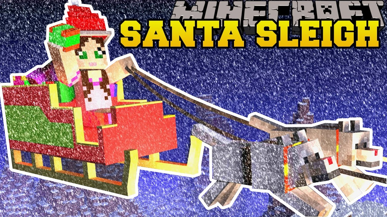 Minecraft: TRAPPED ON SANTA'S SLEIGH! - FIND THE BUTTON CHRISTMAS ...