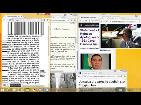 REMEDY FOR OBEAH ACT OF JAMAICA PARLIAMENT IN THE NAME OF QUEEN ELIZABETH