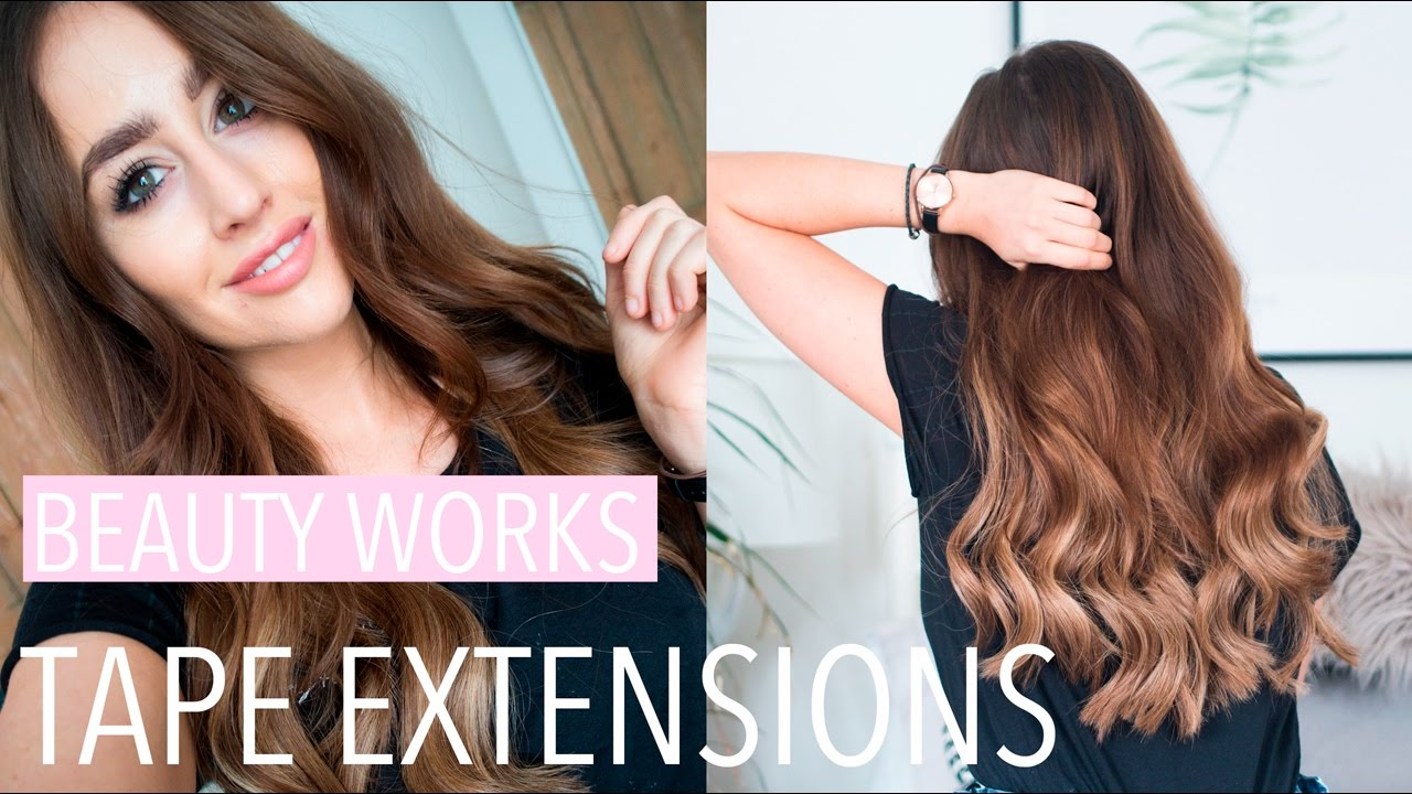 Beauty Works X Jen Atkin Tape Hair Extensions Review Fashion Slave