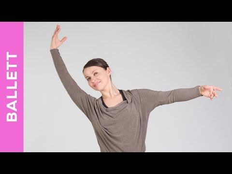 Ballett lernen - Training zum mitmachen - Tanz Workout für Anfänger - Tanz mit Anna - HD
