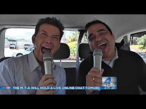 NBC LosAngeles Karaoke Cabbing
