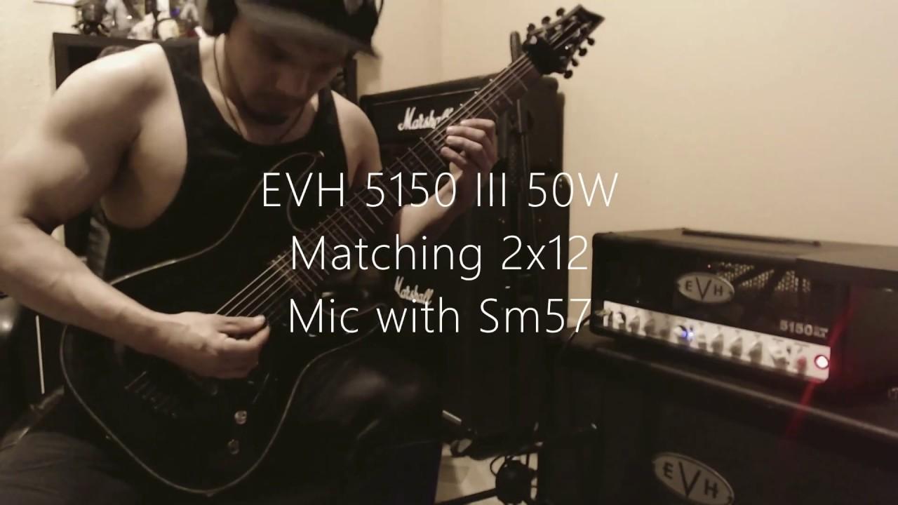 evh 5150 iii 50 watt full production test youtube. Black Bedroom Furniture Sets. Home Design Ideas