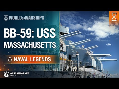 World of Warships - Naval Legends: USS Massachusetts