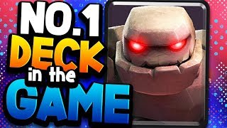 GOLEM GOD is #1 in the WORLD w/ a NEW DECK!