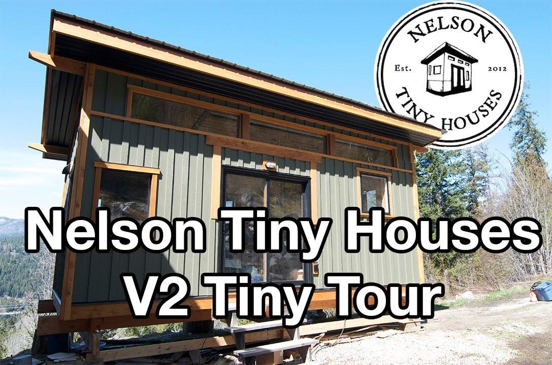 Tiny Home Designs: Nelson Tiny Houses Maple House (Our Second V House) Tiny