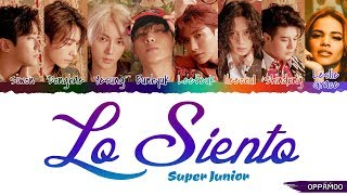 Download Lagu SUPER JUNIOR - 'Lo Siento ft. Leslie Grace' Lyrics (Color Coded Han-Rom) Mp3