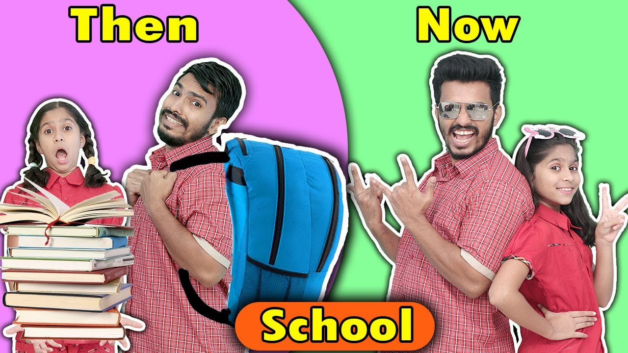 Download School Then Vs Now | Funny Video | Pari's Lifestyle