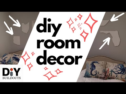 DIY Room Decor - Craft Wall Art