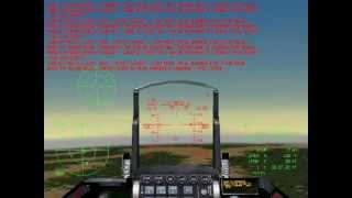 Game F-16 Aggressor - Mission Escort the Learjet - Part 2