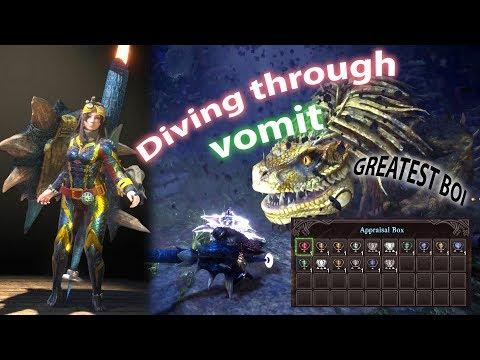 "Greatest Jagras Lance Solo - casual 6'00"" (full commentary) Monster Hunter: World thumbnail"