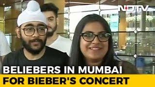 Beliebers' Hit Mumbai For Justin Bieber's Concert