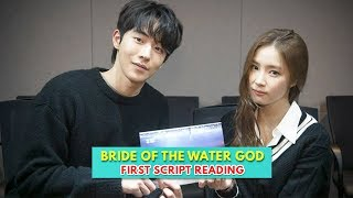 Bride Of The Water God Releases Photos First Script Reading